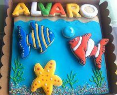 Maralon Bakery: Galleta gigante acuario.