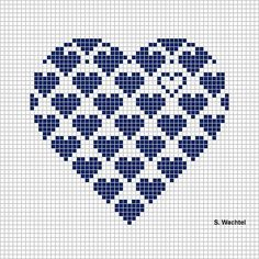 Sweet cross stitch pattern
