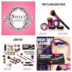 Some of the amazing products and packages that Sweet Minerals sells