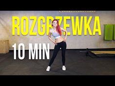 ROZGRZEWKA PRZED TRENINGIEM - YouTube Tabata, Cardio, Health Fitness, Yoga, Gym, Motivation, Sports, Workouts, Youtube