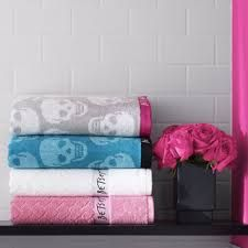 Colorful Skull towels<3<3<3