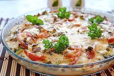 Картофельная пицца Ингредиенты: 3-4 шт картофеля (375 г) 1 небольшой пучок зеленого лука 2 помидора.(250 г) 1 небольшой кабачок 200-300 г фарша (можно кури