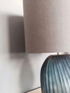 Our product of the week: Patara Round Tablelamp with ocean blue/indigo glass base and lampshade in smokegrey by GUAXS #guaxs #bensstore #bensmünchen #munich #interiordesign #living #lifestyle #oceanblue #exclusivelamps #tablelamps #patara #lampshades #decoration