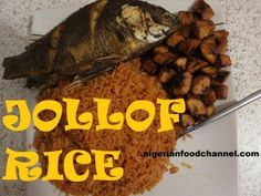 Learn how to cook Nigerian Jollof rice in easy steps. Nigerian Jollof rice is one of Nigeria's mouth watering recipes that is enjoyed by so many. Indian Food Recipes, Real Food Recipes, African Recipes, Easy Recipes, African Rice Recipe, Jollof Rice Nigerian, Nigeria Food, West African Food, Caribbean Recipes