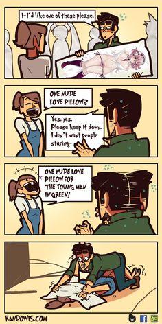 Annoying salesgirl