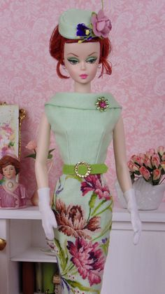 Botanical Tapestry for Barbie & Victoire Roux by HankieChic