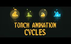 Torch animation Cycles