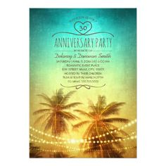 285 best wedding anniversary party invitations images on pinterest