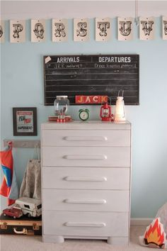 this whole boys room is so darling!