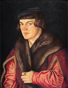 Portrait of a Man, Hans Baldung, 1526