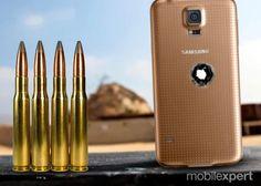 PEDRO HITOMI OSERA: Galaxy S5 em seu desafio mais duro, um rifle snipe...