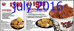 Kfc Coupons Promo Coupons will expired on MAY 2020 ! About KFC For fried chicken in the Colonel's kitchen, use the Kentucky Fried C. Free Mcdonalds Coupons, Kfc Coupons, Grocery Coupons, Print Coupons, Restaurant Coupons, Fast Food Restaurant, Kfc Printable Coupons, Coupons For Boyfriend