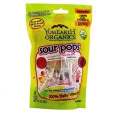 Bio Sour Lollipops*