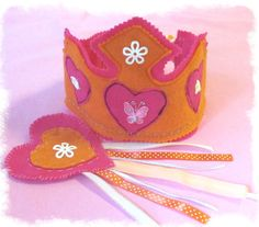 Hey, I found this really awesome Etsy listing at http://www.etsy.com/listing/106220958/tiara-felt-crown-princess-crown-fairy