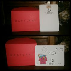 Wish card snoopy and rainbow dash, for the 22th  birthday of my friend.