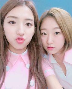 WJSN ♡ Eunseo 은서 (Son Juyeon 손주연) & Park SooBin 박수빈 'Secret' era IG selca 160828 #우주소녀 #비밀이야