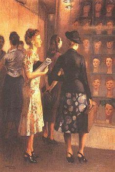 'Window Shoppers' 1938 - Raphael Soyer