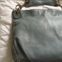 "NEW Rebecca Minkoff • Mini Luscious Hobo  NEW Rebecca Minkoff • Mini Luscious Hobo with studs shoulder bag • ash grey • soft leather with silver hardware • pyramid stud trim • removable top handle with rings 5"" drop • removable cross body strap with rings 16 1/2"" drop • exterior zip pocket with logo plate • original dust bag • never used • perfect condition!!! • 12""H x 16""W x 3""D Rebecca Minkoff Bags Hobos"