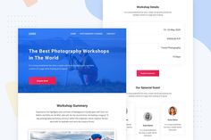 Photography Workshop - Email Newsletter by Ra-Themes on Envato Elements Email Templates, Newsletter Templates, Amazing Photography, Travel Photography, Ra Themes, Email Newsletters, Photography Workshops, Travel Photos