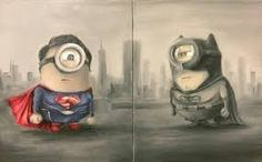 Image result for minions dressed as superman batman spiderman