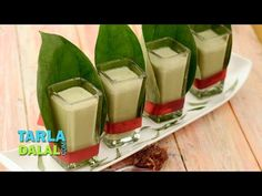 Paan Shot by Tarla Dalal   Recipe Video   Indian and International Cooking Videos   Tarladalal.com