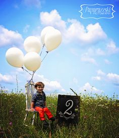 2nd Birthday Boy Photo Session | Photo Pose idea for 2 year old | Photographing in a field at full overhead sun.