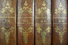 Lexikon und Enzyklopädie | Pierers Universal-Lexikon, Encyclopädisches Wörterbuch 2. Auflage, 34 Bände, 1840-1846 (III)