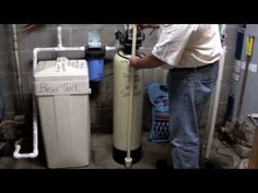 Part 1 - How a Home Water Softener Works - www.ifixh2o.com - YouTube