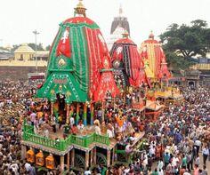 Dandavats | Millennium's first Nabakalebar Rath Yatra held at Puri