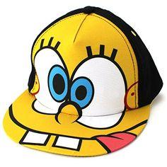 675e3b79db1 Spongebob Toddler Baseball Cap Hat (Black) Nickelodeon http   www.amazon