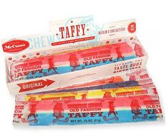 """This is nostalgic because before laffy taffy came along there was """"old fashioned"""" taffy... I remember traveling through Virginia and PA and stopping at places like Stuckeys... and Dad would buy me this... can't buy it now.. my dentist woudn't approve!"""