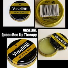 MichelaIsMyName: Vaseline Queen Bee Lip Therapy REVIEW