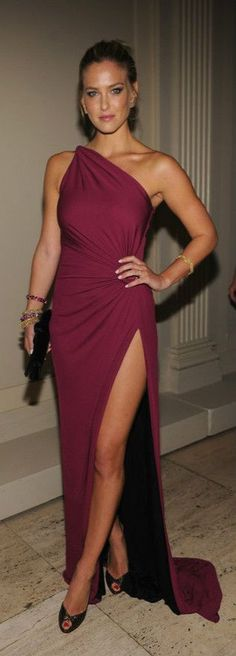 Night Dress? Yes, Burgundy Long Dress Fashion 2014 Trends. Stay Cool and Sexy – Stay Fashion.