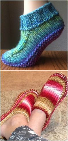 Ladies Knitted Slipper Boots Patterns You'll Adore