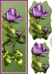 Lilac Tulip And Pearls Large Dl With Pyramage