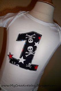 My Creative Way: Tutorial: How to make a sewn applique shirt