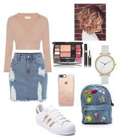 """""""Untitled #12"""" by mariana-silva-ix ❤ liked on Polyvore featuring adidas, Casetify and Skagen"""
