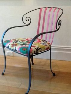 Chair Design Iron Step2 Table And Chairs With Umbrella 105 Fantastiche Immagini Su Wrought Nel 2019 Items Similar To Australian Hand Forged Unique Fabric Colour Designs On Etsy