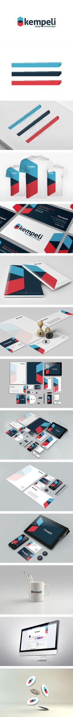 Another example of design using space as well as bright colours, I'm not sure that a hexagon is right for this brand but it is worth trying.