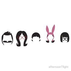 Bobs Burgers Tee by afternoon teelight  http://www.redbubble.com/people/innercoma/works/10733607-belchers-gang?c=230272-bobs-burgers