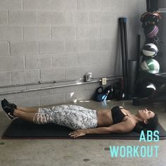 """12.2k Likes, 215 Comments - Carmen Morgan (@mytrainercarmen) on Instagram: """"Abs Workout!💥This hits mainly lower abs, but get ready to feel the 🔥all thru your core.😅You can…"""""""