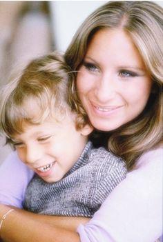 Barbra Streisand and her son Jason