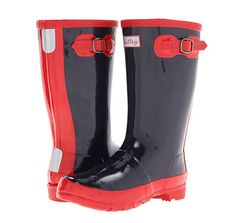 7 of the cutest kids rainboots for those April showers. Love this classic navy + red which is great for any age.