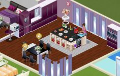 Are you lucky to have a big kitchen? Here's an idea how to decorate it. Play Suburbia!