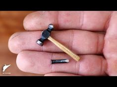 Artist and builder Uri Tuchman is working on an automaton which will presumably be using some tiny tools. As part of the project, he created this Dollhouse Miniature Tutorials, Miniature Crafts, Diy Dollhouse, Miniature Dolls, Dollhouse Miniatures, Mini Doll House, Barbie Doll House, Doll House Crafts, Doll Crafts