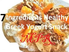 7 Ingredients Healthy Greek Yogurt Snack - 7 Υλικά Υγιεινό Ελληνικό Γιαο... Yogurt, My Favorite Food, Favorite Recipes, Mary Poppins, Kids Meals, Snacks, Group, Children, Ethnic Recipes