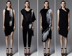 The Helmut Lang Resort 2012 Collection Has Avian Appeal #feathers #fashion trendhunter.com