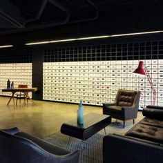 Bureau de Change combines furniture with digital  projections for second Made.com showroom