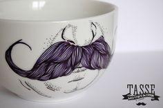 Bonjour Darling - Blog Illustration, Cuisine et DIY Bordeaux: DIY Tasse moustache