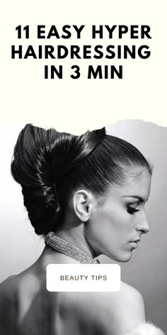 I love this kind of article since I learn a lot of new hairstyles hyper-fast and easy to do. We have all been late at least once in his life, and it is normal we are human! 5 Minute Hairstyles, Easy Hairstyles, Braided Space Buns, Makeup Tips, Hair Makeup, Twist Bun, Hair Grips, Beauty Hacks, Beauty Ideas